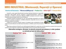 M.R.O. INDUSTRIAL (Mentenanta, Reparatii, Operare)