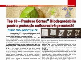 Top 10 – Produse Cortec® Biodegradabile pentru protectie anticoroziva garantata !