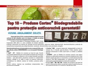 Top 10 – Produse Cortec® Biodegradabile pentru protecţie anticorozivă garantată !